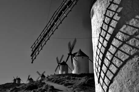 more windmills in Consuegra